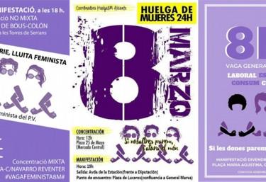 La CVONGD i Pobresa Zero s´adhereixen a la Vaga Feminista i a les convocatòries del 8 Març 2019 al voltant del Dia Internacional de les dones