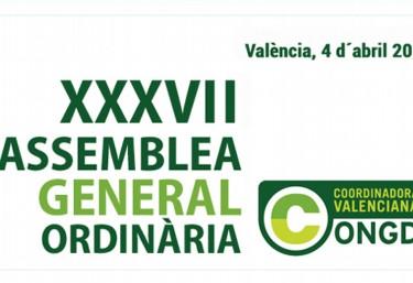 Convocatòria de la XXXVII Assemblea General Ordinària de la CVONGD