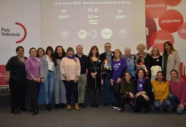 UGT-PV entrega el Galardón María Cambrils a Atelier ONGD por su trabajo por la igualdad