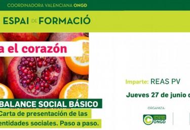 Taller de Formación: Balance Social Básico- carta de presentación de las entidades sociales. Paso a paso y problemas.