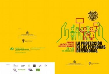 """""""Jornades València pels Drets Humans"""" La protecció de les persones defensores"""