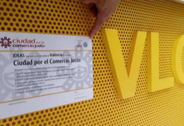 """València """"Ciudad por el Comercio Justo"""""""