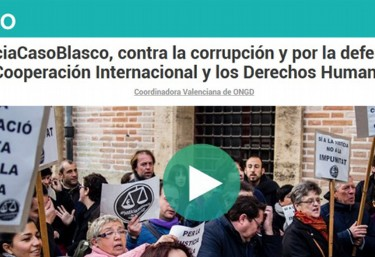 La CVONGD hace un llamamiento a la ciudadania para colaborar con los gastos judiciales ante el inicio del segundo juicio del #CasoBlasco