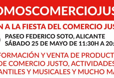 FIESTA DEL COMERCIO JUSTO 2019 EN ALICANTE