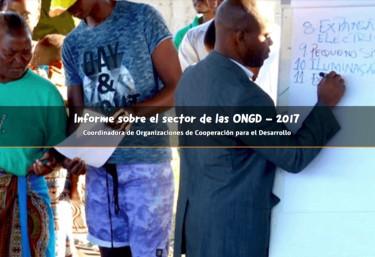 Informe sobre el sector de las ONGD - 2017