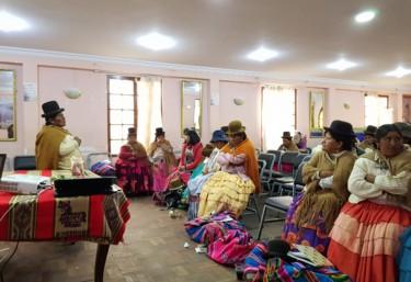 Alianza por la Solidaridad inicia los encuentros con autoridades locales para fortalecer el sistema público de salud sexual y reproductiva de las mujeres de Bolivia