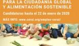 Técnico/a de Educación para la Ciudadanía Global y Alimentación Sostenible (Madrid)