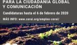 Técnica/o de Educación para la Ciudadanía Global y Comunicación