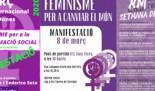 8 de Març 2020. Día Internacional de les Dones. Actes al voltant del 8 de Març
