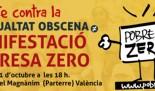 Mobilitzacions de POBRESA ZERO 2017 en València