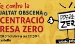Mobilitzacions POBRESA ZERO 2017 en Castelló