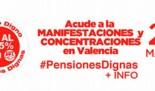 Manifestación en defensa del sistema público de pensiones #PensionesDignas