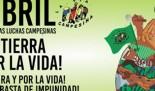 Día Internacional de las Luchas Campesinas #17abril