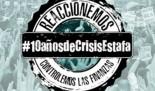 """Campaña """"10 años de crisis estafa"""""""