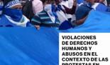 Informe Naciones Unidas: Nicaragua: La crisis de derechos humanos exige acción y rendición de cuentas