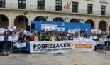 """Pobresa Zero reclama en Alicante """"Mas hechos y menos promesas"""" en la lucha contra la pobreza y por los derechos de la personas"""