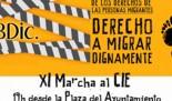 """La CVONGD y Pobresa Zero se adhieren a la convocatoria de actos del Día Mundial de la personas migrantes  en especial la """"XI Marcha por el cierre del CIE"""" el martes 18 de diciembre"""