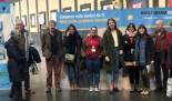 La estación de tren de Alicante Adif acoge una exposición con nueve ilustradoras valencianas que desmontan mitos sobre la cooperación