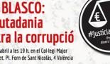 CAS BLASCO: La ciutadania contra la corrupció
