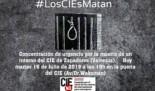 CIEs NO exige una investigación independiente por la muerte del interno de Zapadores y convoca a la ciudadanía a concentrarse para exigir el cierre inmediato del CIE