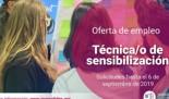 Jovesólides convoca una plaza para el puesto de Técnica/o de Sensibilización