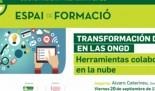 Formación Interna: Transformación digital en las ONGD. Herramientas colaborativas en la nube.