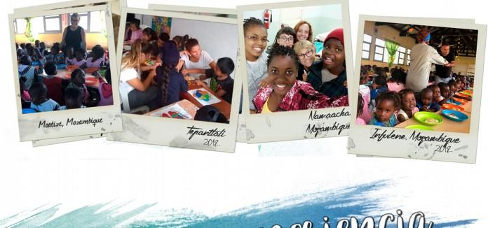 Curso de formación de voluntariado internacional 2019/2020 con campos de trabajo internacionales en México y Mozambique.