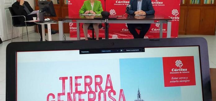 Cáritas Valencia acompañó a casi 50 000 personas en 2019 y 12 000 durante el confinamiento
