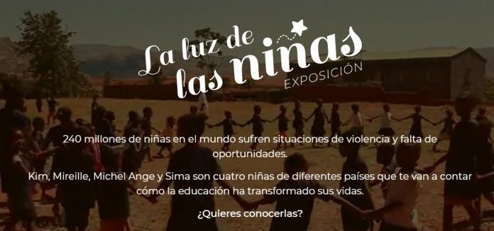"""EXPOSICIÓN VIRTUAL """"LA LUZ DE LAS NIÑAS"""""""