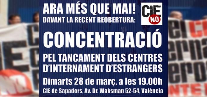 CIEs_NO_insta_a_la_ciutadania_i_a_les_administracions_valencianes_a_exigir_el_tancament_immediat_de_Sapadors