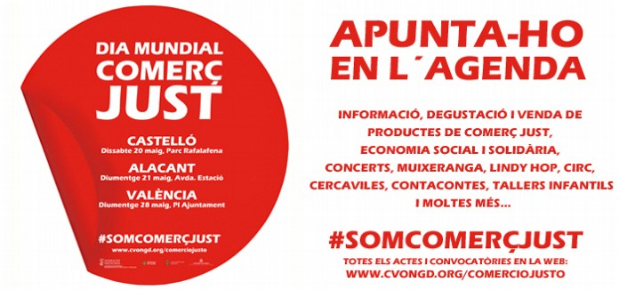 APUNTA-HO_en_lAGENDA:_DIA_MUNDIAL_DEL_COMERC_JUST_en_la_Comunitat_Valenciana