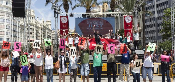 ¡Gracias por hacer posible un gran Día Mundial del Comercio Justo en València!