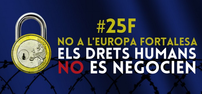 La_CVONGD_i_Pobresa_Zero_s-adhereixen_a_la_convocatoria_de_Manifestacio_25_de_febrer_NO_A_L-EUROPA_FORTALESA,_ELS_DRETS_HUMANS_NO_ES_NEGOCIEN