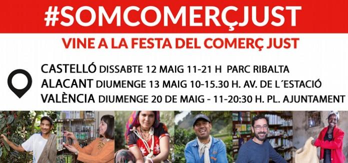 DIA MUNDIAL DEL COMERÇ JUST 2018 EN LA COMUNITAT VALENCIANA