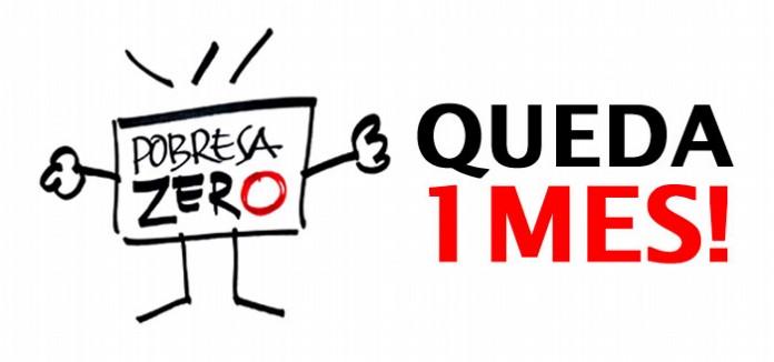 POBRESA_ZERO:_Queda_un_mes!