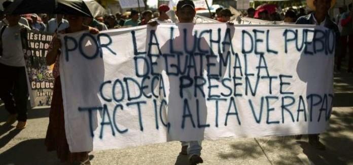 Pau i solidaritat se solidariza con CODECA