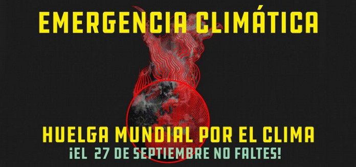 La Coordinadora Valenciana de ONGD y Pobresa Zero nos sumamos junto a más de 300 organizaciones a la Huelga Mundial por el Clima