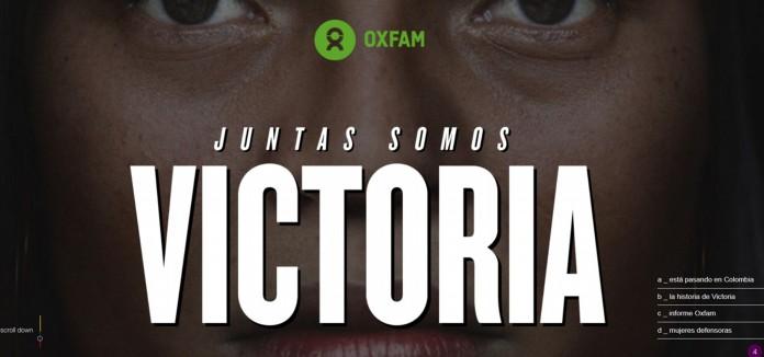 Oxfam Intermón denuncia la violencia desatada en Colombia contra las defensoras de la tierra tras los acuerdos de paz