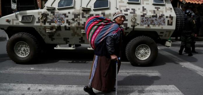 Comunicat de solidaritat amb Bolívia