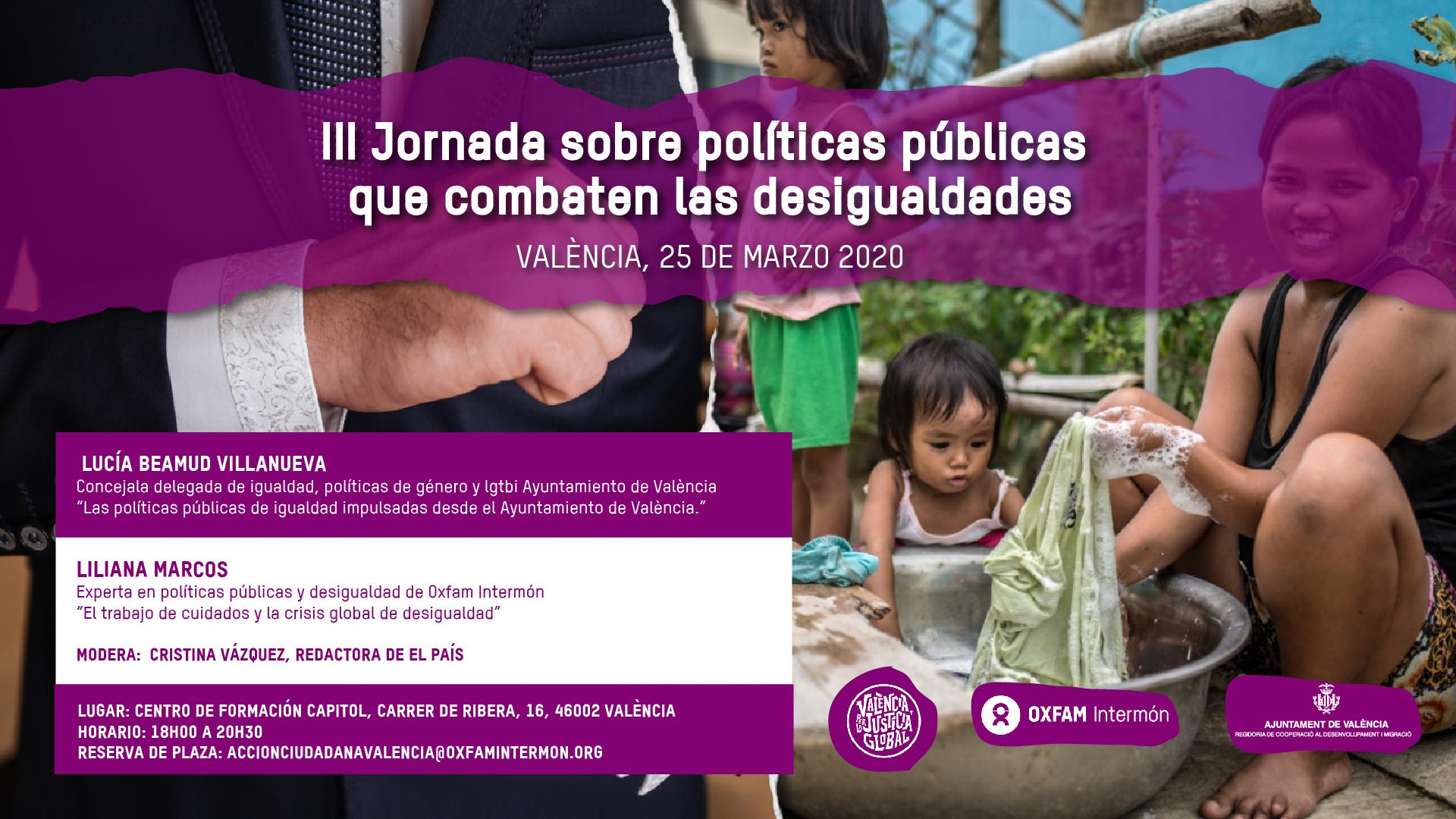"""III Jornada: """"Políticas públicas que combaten las desigualdades"""""""
