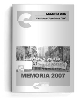 memoria 2007