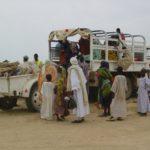 Traslado de personas refugiadas por el conflicto en Darfur (Sudán)