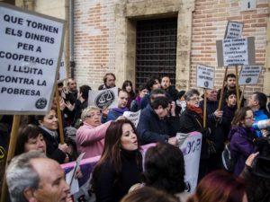 Manifestación Caso Blasco