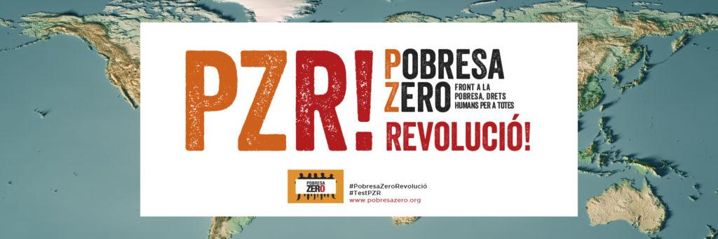 Imagen de la campaña Pobresa Zero 2020 - Pobresa Zero Revolució