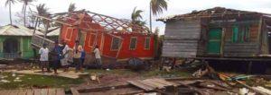 Daños provocados por el huracan Eta