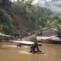 Inundaciones producidas tras el paso del huracán Eta por Guatemala