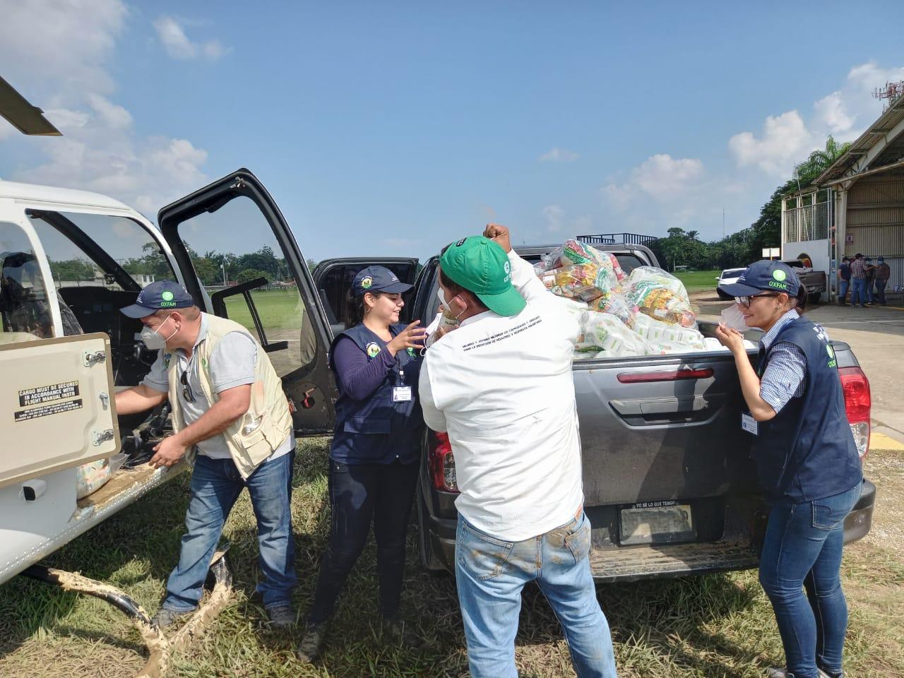Ayuda de emergencia de Oxfam por el huracán Eta