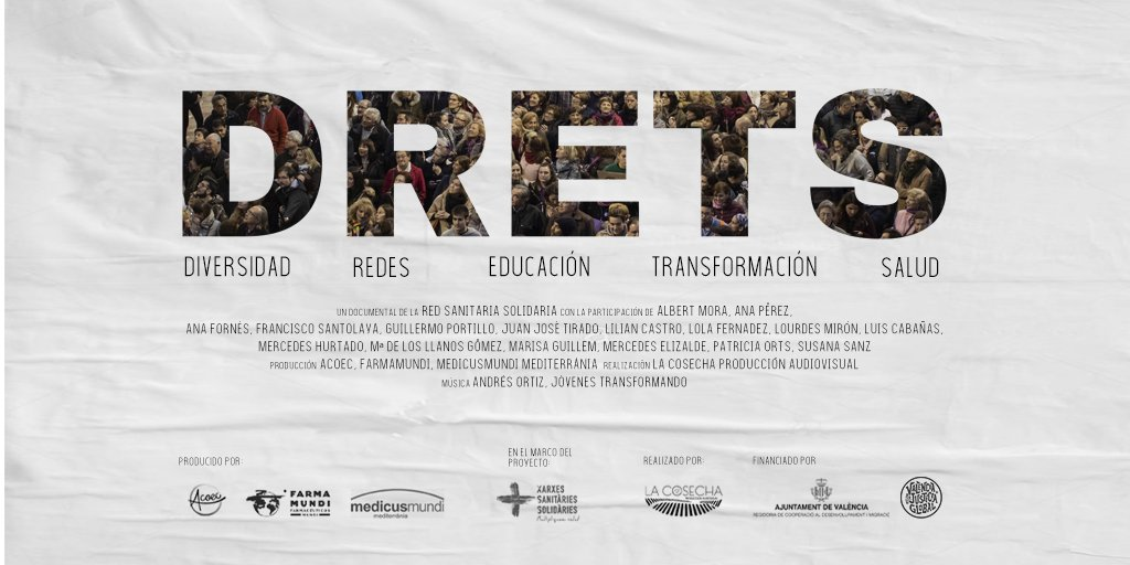 Cartel documental DRETS