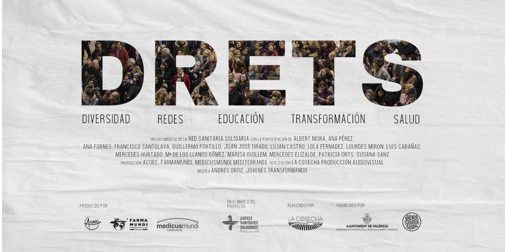 Cartel documental DRETS