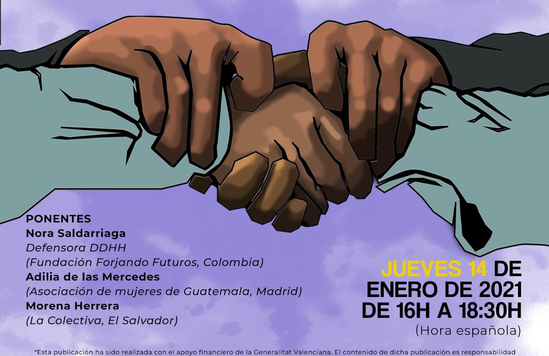 Cartel Charla ACPP Defensoras Derechos Humanos